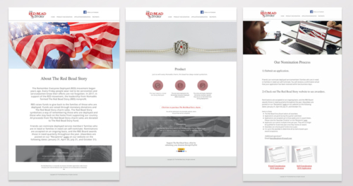 The Red Bead Story Website